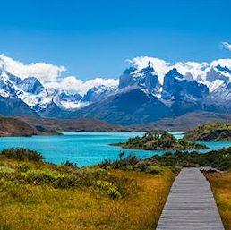 Punta Arenas Lake Pehoe Patagonia